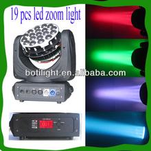 19*12 rgbw led aura stage light/equipamento de karaoke profissional