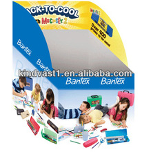 child play kits cardboard floor stand display
