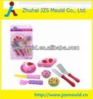 plastic toy mould plastic fruit cake toy
