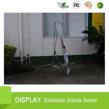 80*200CM Aluminum Roll Up X Banner Standee For Indoor Advertising