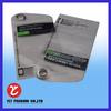 Clear PVC ziplock bags packaging