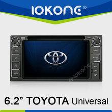 In dash Car GPS system radio DVD player for Toyota universal HiLux / Innova 06-11 / Fortuner / Altis / Fj 200 / CROWN / RAV