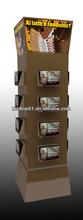 alert dvd paper floor stand display