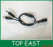 extension cord DC connector cable 1 DC Female to 2 male