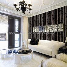 SEINE RIVER single color velvet wallpaper