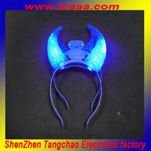 christmas led flashing headdress with star light