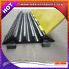 rubber speed bump black and plastic speed bump and cable protector and portable speed bump for sale
