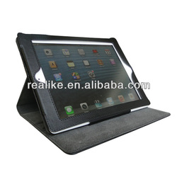 hot 2013 Fashion Leather Case for Ipad Air with Sleep Wake