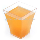 Ps Food Grade Party Bar Catering Wedding testing wine plastic disposable shot glass stand