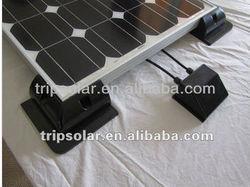 ABS solar panle fixtures for rv/yacht/caravan