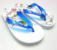 2014 children summer beach cartoon printed eva sole boy nude slippers wholesale