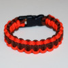 supply nfl team colors cobra braid series paracord bracelet