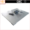 4 Load Cells Painted Chequer Steel Plate Iron/U Steel Beam Electronic Floor Scale with Leg for 1t 2t 3t 5t 10t SCS-A