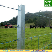directly manufactrer exporter metal temporary fence post