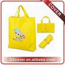 pouch nylon shopping bag