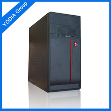 Factory Supply black steel atx pc case beautiful pc case ATX MID TOWER BLACK PC TOWER CASE