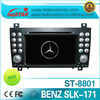 Auto central multimedia for Mercedes Benz SLK Class W171 2008-2011 with gps/v-cdc/radio/canbus/bluetooth/ipod on-sale!hot!