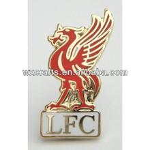 enamel metal liverpool pin badges