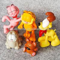 Custom Small Set of Garfield Cat PVC Figures
