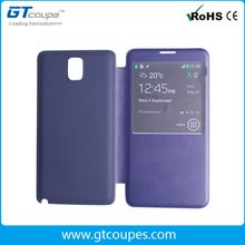 Smart View Flip Back Cover Battery Case for Samsung Note3 N9000