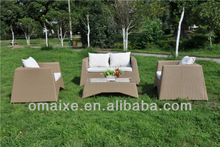 chinese manufacturer outdoor furniture rattan seatings OXAB4018