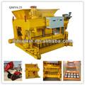 Pequeñas máquinas de fabricación de moldes qmy6-25 para bloques de concreto que hace