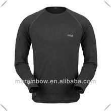 2014 China manufacturer Spring Slim fit men's long sleeve crew neck layering tee