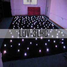 LUV-3LHC203 LED star cloth 2*3meter mixed RGB/dmx led curtain light