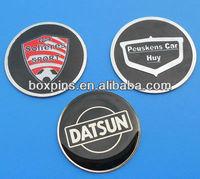 metal custom car badge car wheel center emblems steering wheel emblem
