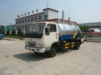 1000-3000 gallon sewage suction tanker truck, sewage vacuum truck, small tanker for sale