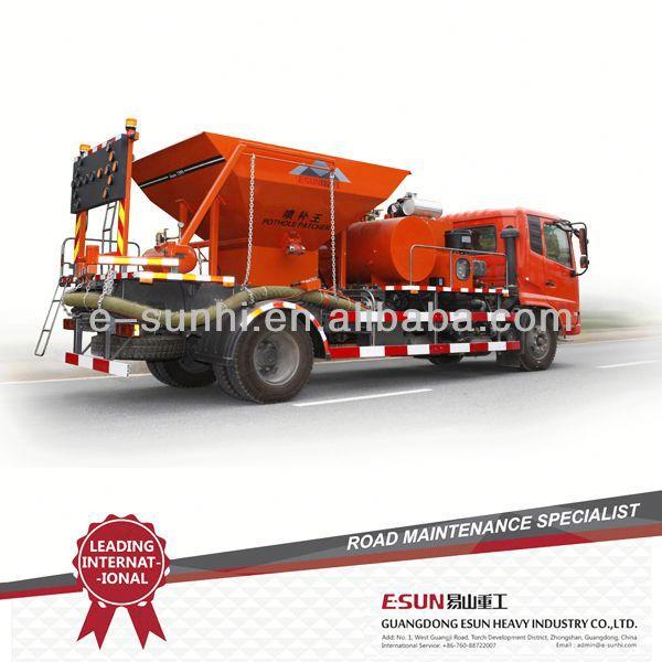asphalt and concrete injection spray high efficient patcher