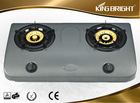 Double burner inox gas stove small kitchen appliances wholesaleB-2214A