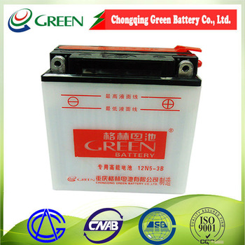 12V 7AH Referrence Japan's national standard chinese national standard motorcycle battery made in China