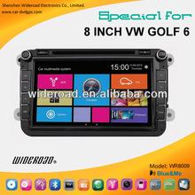 vw golf 6 car dvd player gps radio tv bt blue&me canbus