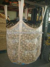 mosquito mesh big bag packing for potato, SWL 1000kg,