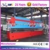 2-WC67K-160T3200 carbon steel pipe bending machine , CNC press brake