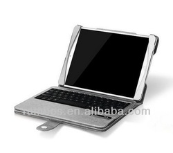 Bluetooth Keyboard Case Leather Case for iPad Air 5