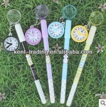 clock pen magnifying glass ballpoint pen super smooth