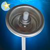 Paint aerosol can valve actuators