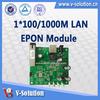 FTTH GEPON ONT/EPON Optical Network Unit Module Media Converter FTTH V2801RC
