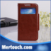 For Samsung Galaxy S 4 View Window Wallet Stand PU Leather Cover Case For Samsung Galaxy S4 I9500