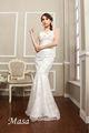اتحاد أزياء الزفاف فساتين زفاف الشاطئ vestidos دي noiva 2015 رخيصة بالجملة من الصين أنماط ثوب الزفاف عارية الذراعين