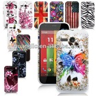 STYLISH COLORFUL PRINTED BACK HARD SKIN CASE COVER FOR MOTOROLA MOTO G