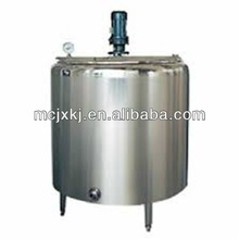 milk heating and cooling tank,used dairy processing machinery