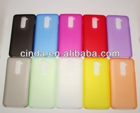 New 0.3mm ultra-thin Super Rubberized Matte Hard Back Plastic Cover Case For LG Optimus G2 D801/F320