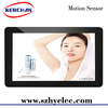 new product 10 inch motion sensor advertising screen/round counter display