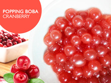 Cranberry POPPING BOBA