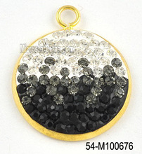 2012 new design gold pendant with diamond