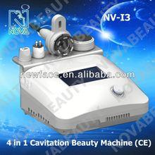 NV-I3 4 In 1 2012 best rf cavitation body slimming machine CE