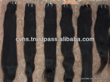 100% natural color wholesale virgin indian hair, Indian hair weave